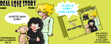Le livre Real Love Story - Volume 01