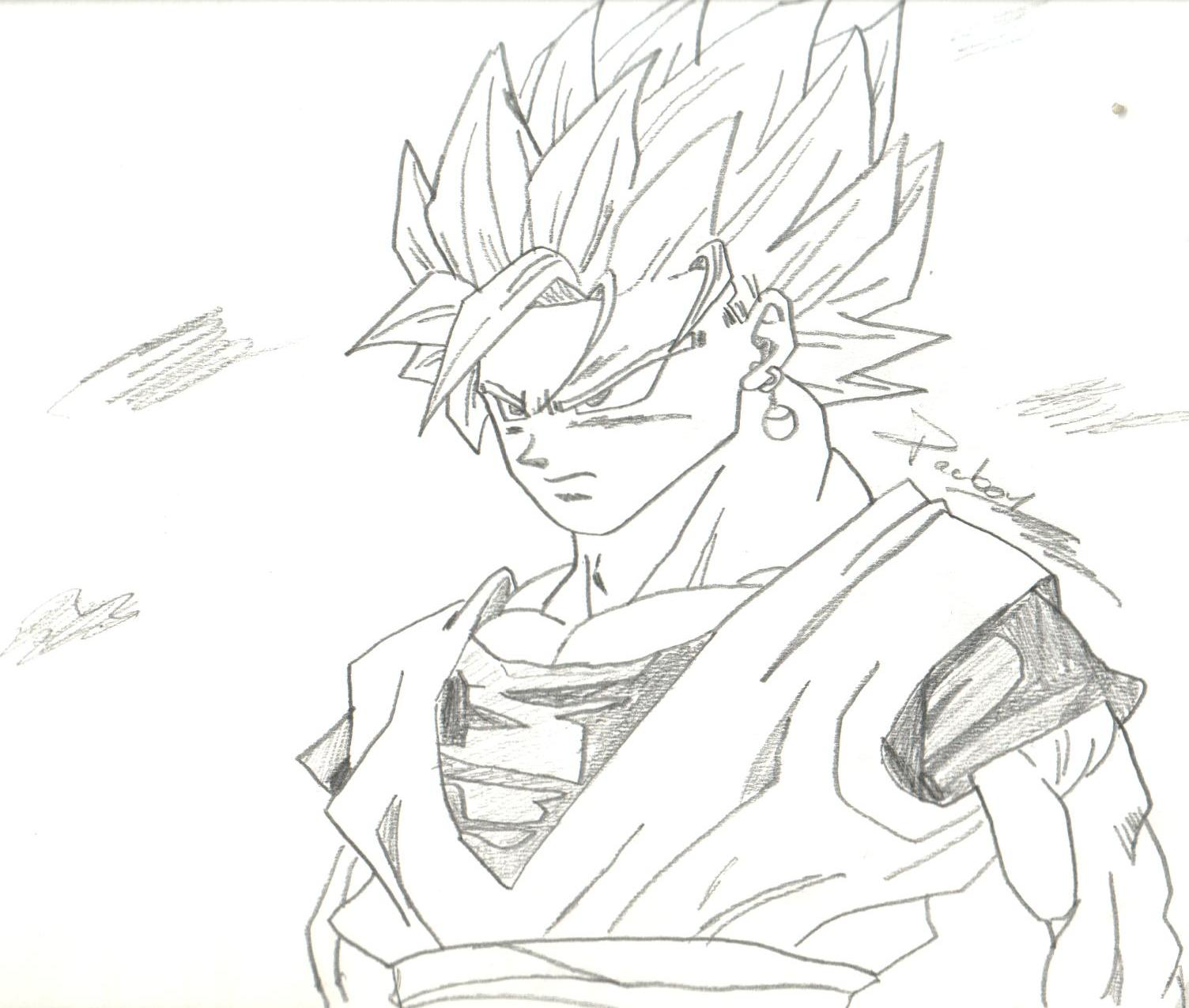 Des dessin de dragon ball z - Dessins à colorier - IMAGIXS